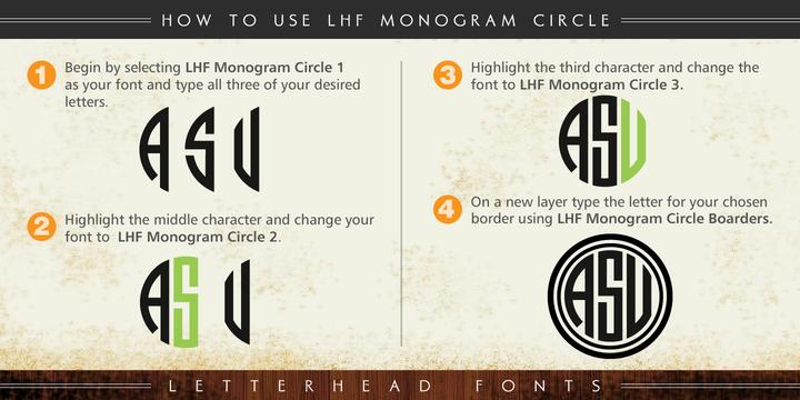 LHF Monogram Circle™