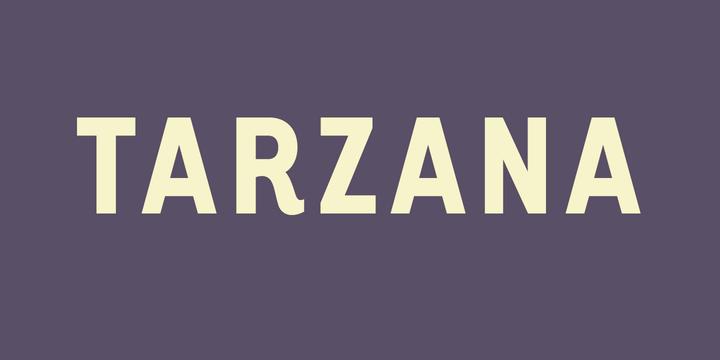 Tarzan Regular Font - FontZone.net