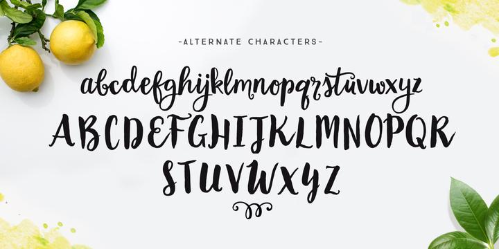 hot fonts download garden grown font