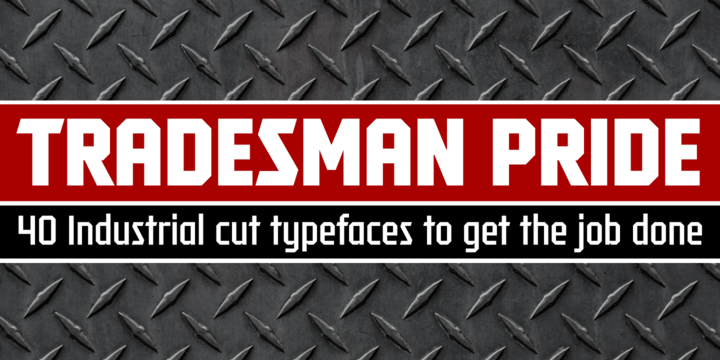 Tradesman | Webfont & Desktop font | MyFonts