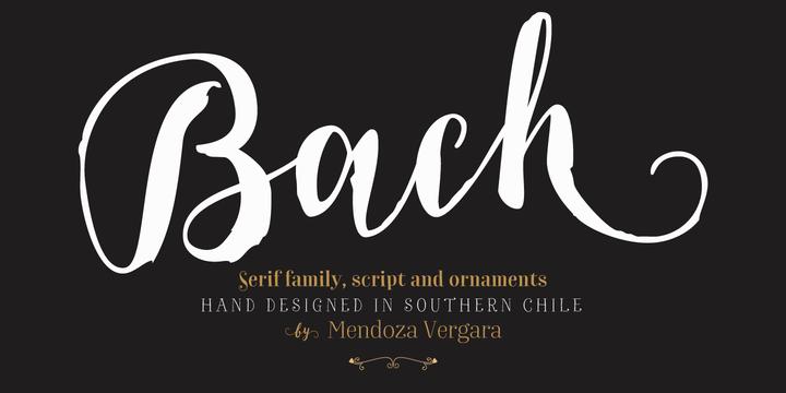 Hot Fonts Download Bach Font