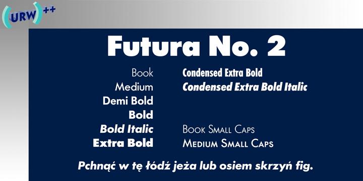Futura No 2 | Webfont & Desktop font | MyFonts