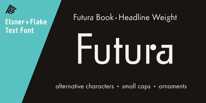 Futura Headline Ef Pro Book