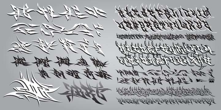 Graffiti fonts myfonts burner burner altavistaventures Image collections