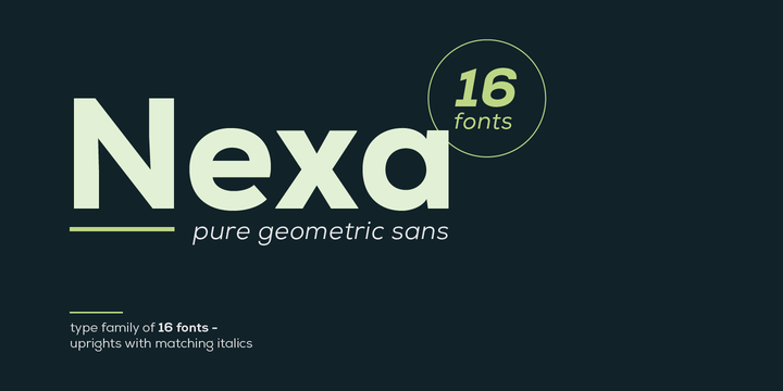 Nexa   Webfont & Desktop font   MyFonts