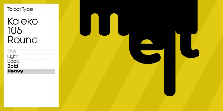 Kaleko 105 Round | Webfont & Desktop font | MyFonts