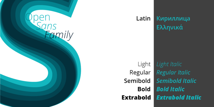 Open Sans | Desktop font | MyFonts