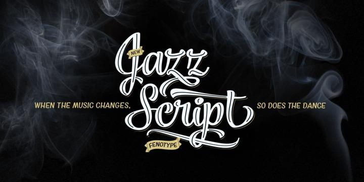 Jazz Script Poster