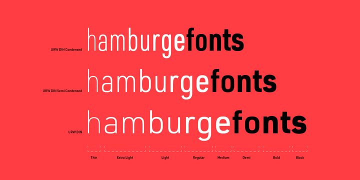 Dinpro Font Family