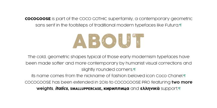 Cocogoose Pro   Webfont & Desktop font   MyFonts
