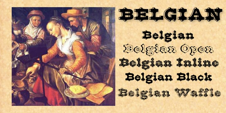 Belgian Webfont Amp Desktop Font Myfonts