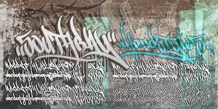 Graffiti fonts myfonts streetartist streetartist altavistaventures Image collections