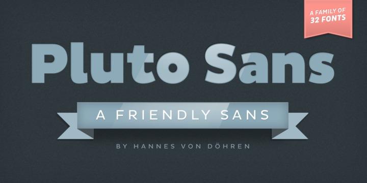 Pluto Sans | Webfont & Desktop font | MyFonts