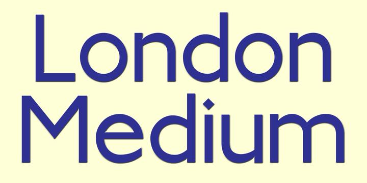 London Medium