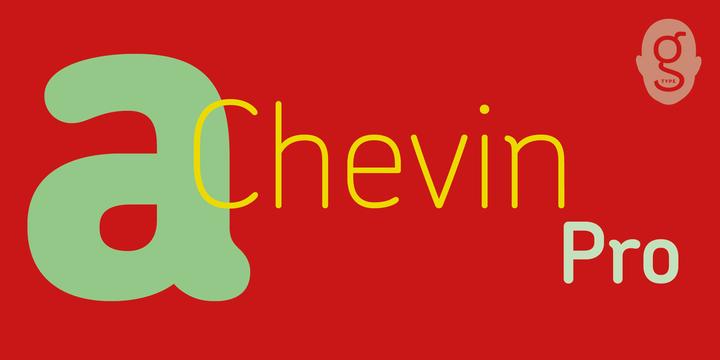 Chevin Pro | Webfont & Desktop font | MyFonts