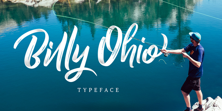 Billy Ohio Font Poster 1