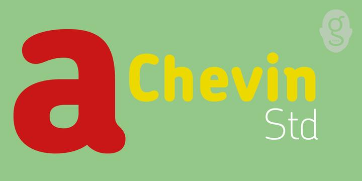 Chevin Std Webfont Desktop Font Myfonts