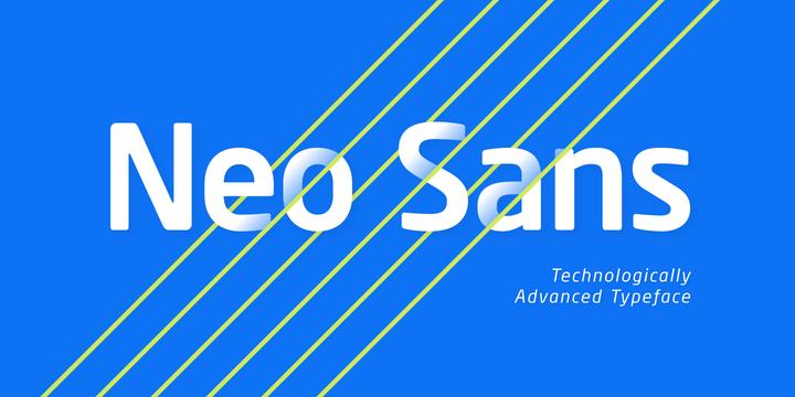 Neo Sans Font Poster 1