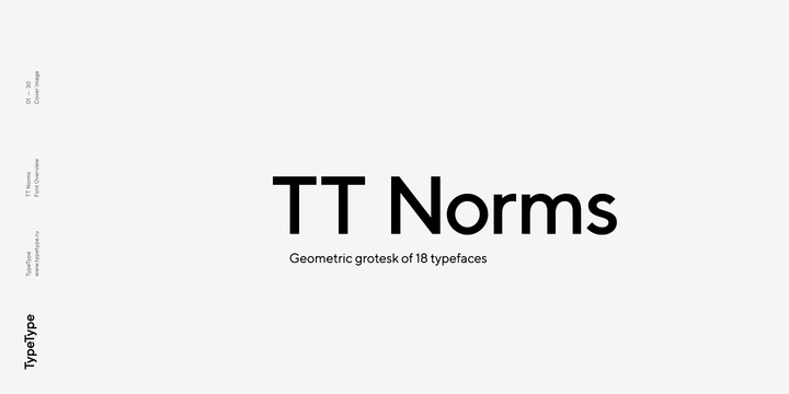 Madeline McVicars: Download TT Norms Font by TypeType