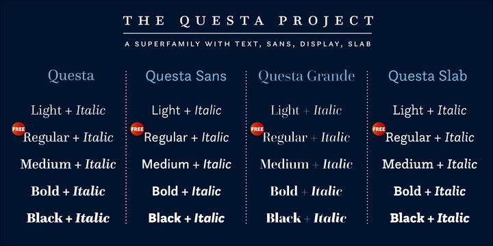 The questa project.