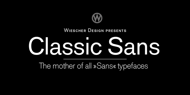 popular sans serif fonts