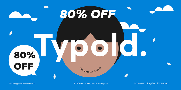 Download Typold™ Font by The Northern Block Ltd – FintFont