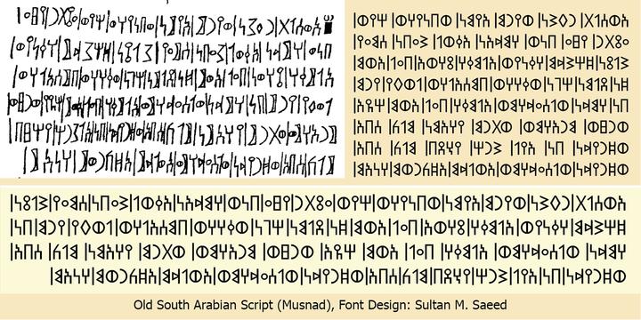SF Old South Arabian   Desktop font   MyFonts