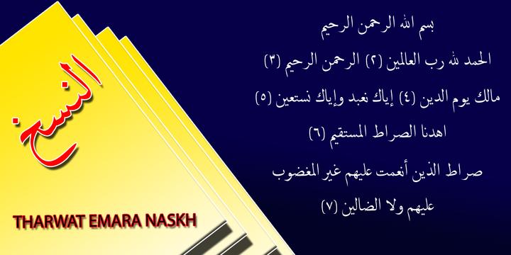 TE Naskh | Webfont & Desktop font | MyFonts