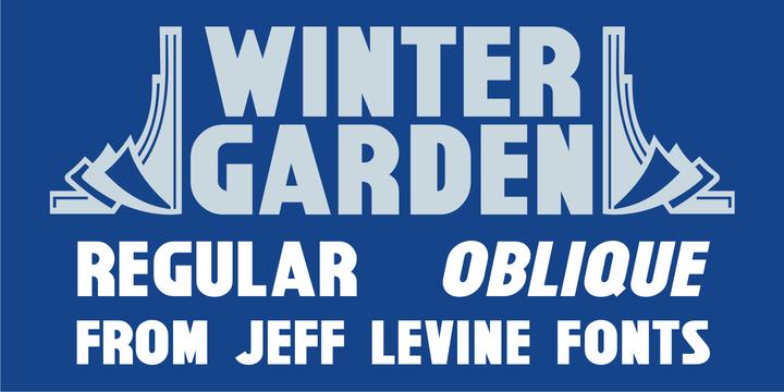 what new fonts download winter garden jnl font by jeff levine. Black Bedroom Furniture Sets. Home Design Ideas