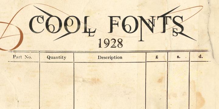 Cool Fonts MyFonts