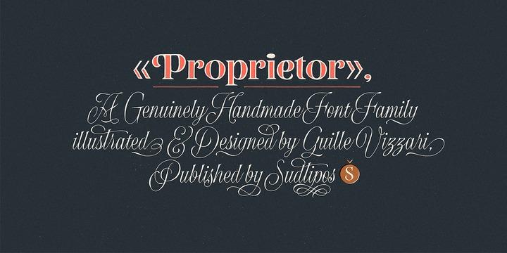Proprietor