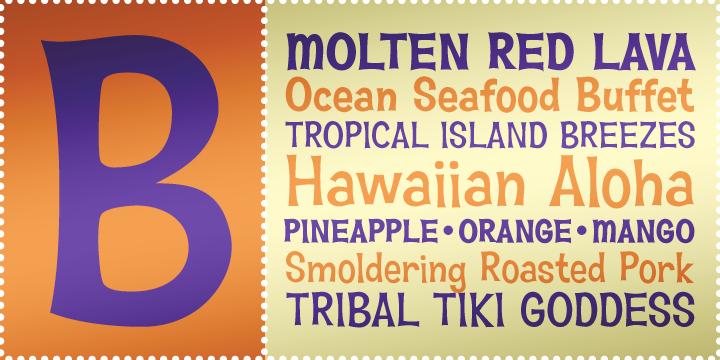 Hawaiian Aloha BTN
