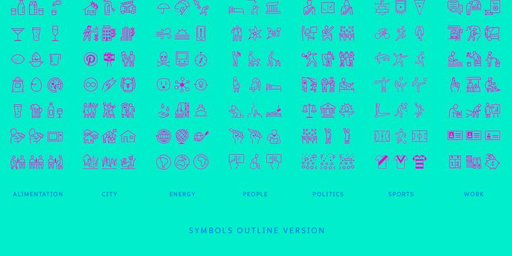 sports number font
