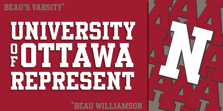 Alana Moresby: Download Beau's Varsity Font by Beau Williamson