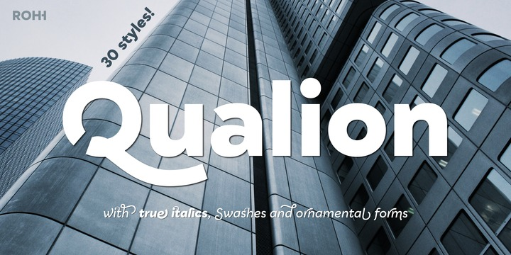 Qualion | Webfont & Desktop font | MyFonts