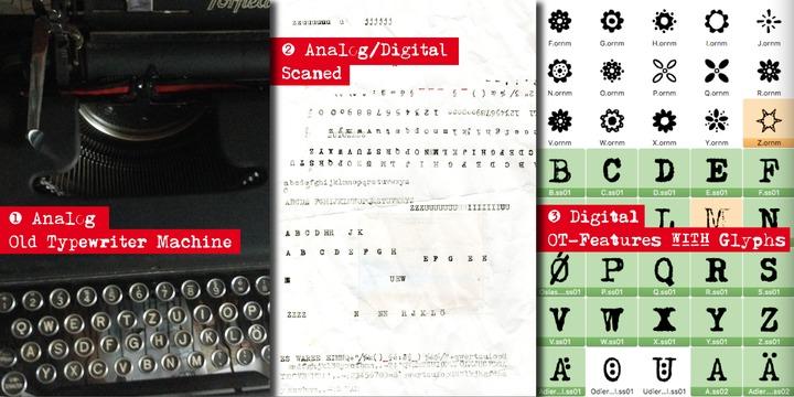Typewriter 1950 Tech Mono