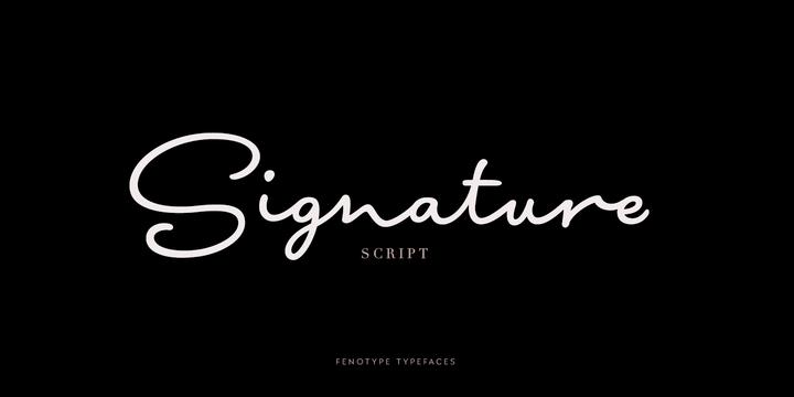Signature Script™