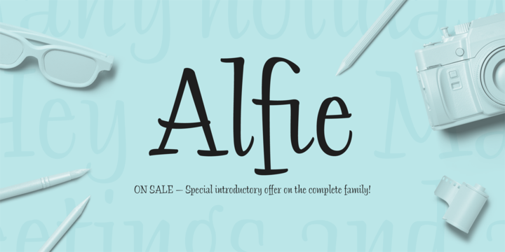 Download Alfie™ Fonts by Monotype