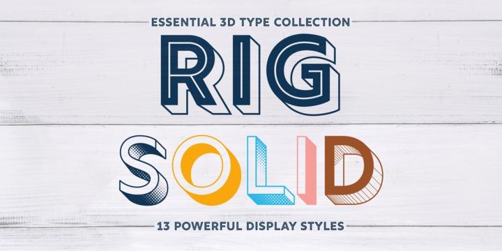 Rig Solid | Webfont & Desktop font | MyFonts