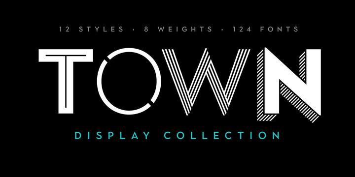 Town | Webfont & Desktop font | MyFonts