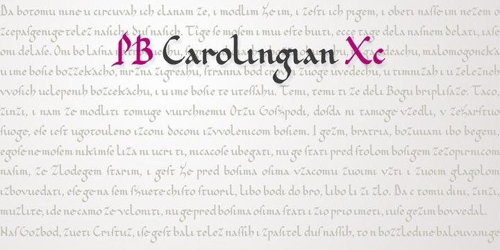 PB Carolingian Xc