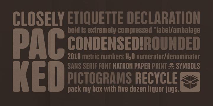 NATRON | Webfont & Desktop font | MyFonts