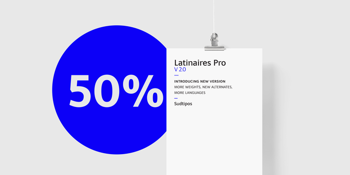Download Latinaires Pro Fonts by Sudtipos
