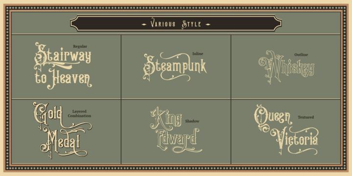 Victorian Fonts Collection | Webfont & Desktop font | MyFonts