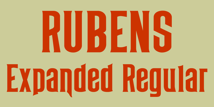Rubens Expanded Regular