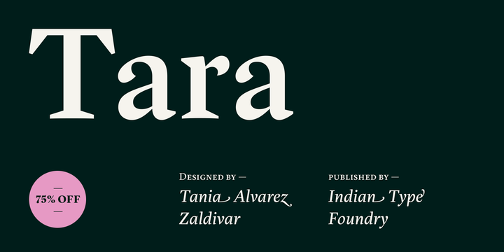 Download Tara Fonts by Indian Type Foundry