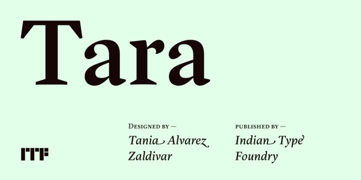 Tara Webfont Desktop Font Myfonts