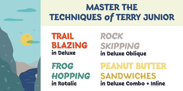 Download Terry Junior™ Fonts by Monotype