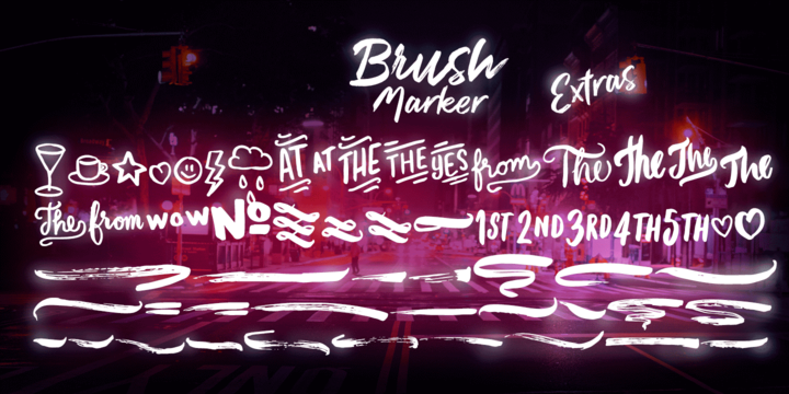 Brush Marker™
