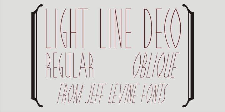 Light Line Deco JNL